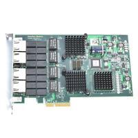 DELL HU632 Interface Masters Niagara 2264 Quad 10/100/1000 PCIe NIC 2264D-GB-R