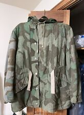 Original German WWII WW2 camouflage reversible jacket