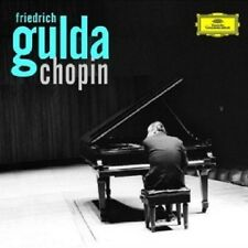 Friedrich Gulda-Gulda juega Chopin 2 CD 44 pistas Classic solo piano nuevo