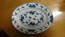 Big Chinese Blue and White Porcelain Hors D'Oeuvres Platter