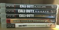 PS3 Playstation 3 ~ 5 Game Lot! Call of Duty (x 5) See pics Free SHIPPING!!!!