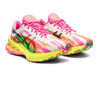 Asics Womens Novablast Noosa Running Shoes Trainers Sneakers Pink Yellow Sports