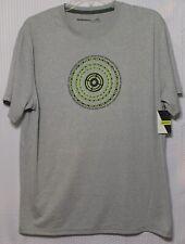 Nishiki Bicycle Bike Chain T-Shirt, Size Medium, Heather Grey, Nbam12027