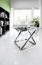Luxury Glass Top Side Table