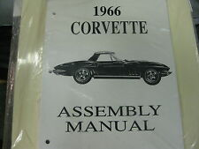 1966 66 CORVETTE (ALL MODELS) ASSEMBLY MANUAL