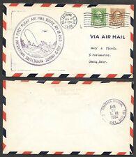 1932 South Dakota Cover - Watertown - First Flight Air Mail