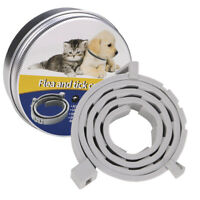 Adjustable Flea & Tick Collar for Pet Dogs Cat Protection Mosquito Killer 24.4in
