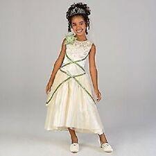 DISNEY PRINCESS TIANA WEDDING COSTUME DRESS 7-8-NEW