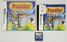 Nintendo DS ~ Puzzler World 2011 ~ UK Release FAST FREE POST
