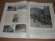 *** L'Illustration n° 4028 (15/05/1920) - Volontaires voies ferrées / Casablanca