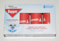 Boite Set x4 Rouleaux Tue / Anti Mouches 4 cm Johnson BAYGON Insect Catcher