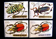 BURUNDI INSECTS CTO MNH OG (SEE ITEM DESCRIPTION)