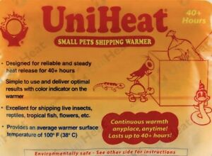 UNIHEAT 40hrs SHIPPING WARMER HEAT PACK - Add On Only
