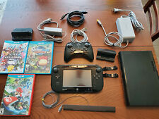 Wii U Console & Game Pad 32GB w/ Games and Pro Controller - Verified Working
