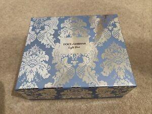 Womens Dolce & Gabbana LIGHT BLUE 50ml / 3 piece GIFT SET - Brand New