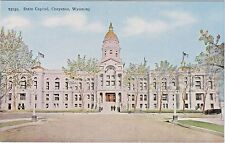 Wyoming State Capitol Building in Cheyenne, Wyoming - Early 1900's View