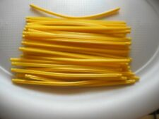 "K'Nex KNEX YELLOW RODS FLEXIBLE 7 1/2"" LOT 30 FREE SHIPPING"