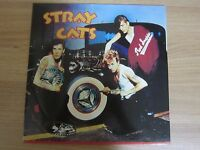 STRAY CATS S/T 14 Tracks Korea Orig Vinyl LP 1983 DIFFERENT