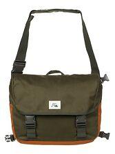 Neu Quiksilver Carrier Tasche Messenger Bag Schultertasche Umhängetasche oliv