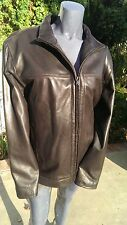 Scully Leather 704 Chocolate Lamb Motorcycle Jacket (L)