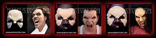Halloween/Foam latex/Set of three Vampire/Face/Brows/Mask/lot.