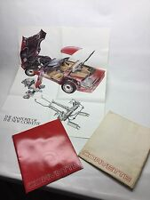 1983 Chevrolet Corvette Sales Brochure Catalog With Poster