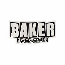 BAKER LOGO LARGE SKATEBOARDS STICKER SKATE REYNOLDS LIKE DEATHWISH THRASHER