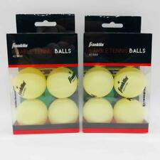 2X 6-Packs of Franklin 40 MM Table Tennis Balls Glow in the Dark Ping Pong
