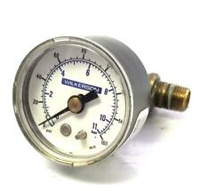 Wilkerson 255-03 Pressure Gauge 0-160 PSI 0-11 Bar