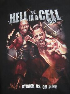 """HELL IN A CELL"" RYBACK v CM PUNK October 28, 2012 (LG) Shirt SHEMUS vs BIG SHOW"
