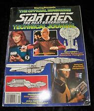 Starlog: The Star Trek Next Generation Technical Journal (1992, Paperback)
