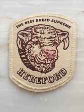 Hereford Beef Bred Supreme Patch
