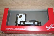 Herpa 308694 - 1/87 Volvo Fh Zugmaschine - Weiss - Neu