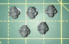 Grey Knights Heads x5 Warhammer 40K Space Marine Bits