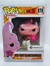 Funko Pop Kid Buu Kamehameha #878 Dragon Ball Z Galactic Excl. +Protector