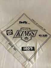 "LA Kings 1991 Stanley Cup Playoffs King Kerchief - 14x14"" Los Angeles Hockey NHL"