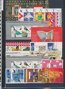 XC66379 Netherlands mixed thematics sheets XXL MNH