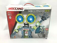 Meccano Meccanoid G15 Personal Robot: 2 ft Tall I 600 Parts I STEM I TOY136