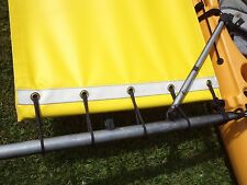new model  yellow Hobie  Adventure Tandem    Trampoline & splash  shield
