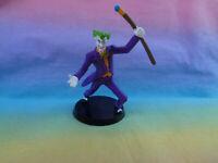 DC Comics Miniature Batman Joker Plastic Figure on Base