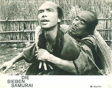 Die Sieben Samurai EA AHF # 5 Lobby Card Kurusawa Shichinin no samurai Mifune
