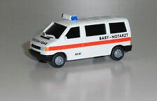 "Roco Miniatur Modell 1480 VW T4 BUS ""BABY-NOTARZT"" 1:87 NEU-OVP"
