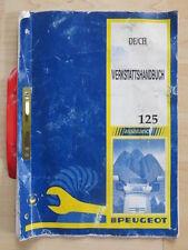 Werkstatthandbuch Peugeot RS SV 125 / Hercules SV 50 SV 80