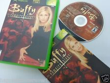 Buffy Vampire Slayer Complete Original XBOX 1 Video Game System DISK FLAWLESS