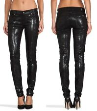 7 For All Mankind The Skinny Cobra High Gloss Jean Size 26 NEW