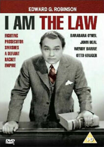 I Am The Law Dvd Edward G. Robinson Brand New & Factory Sealed
