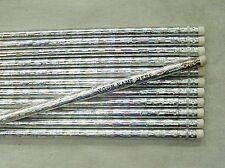 """12 Glitzy """"Prism""""  Personalized Pencils"""