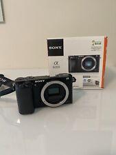 Sony Alpha A6000 24.3Mp Digital Camera - Black (Body + Accessories Read Details)