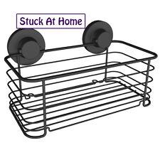 Naleon Black Shower Caddy Basket Storage Shower Removable Instaloc