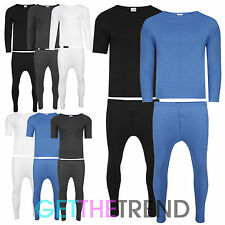 Mens Thermal Full Set Short Sleeve Long Sleeve Long Johns Underwear Vest Top